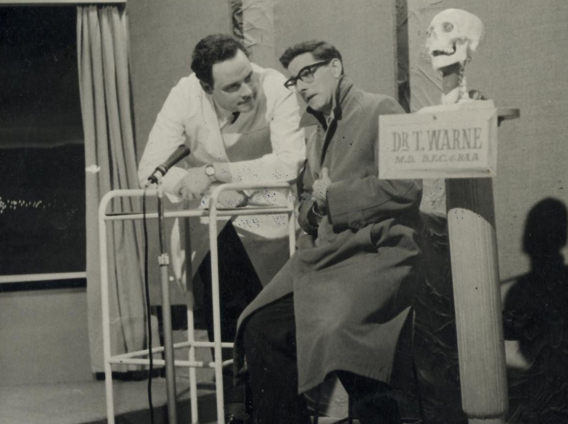 Tom Warne & Frank Avis Tonight Show skit 1964